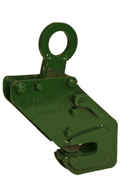 Horizontal Lifting Side Beam Clamp - vertical view